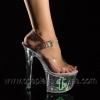 TIPJAR-708-8 Clear/Lime Glitter